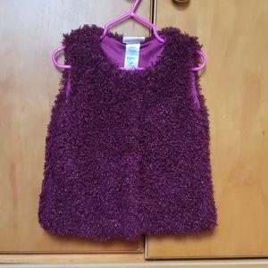 Toddler maroon vest